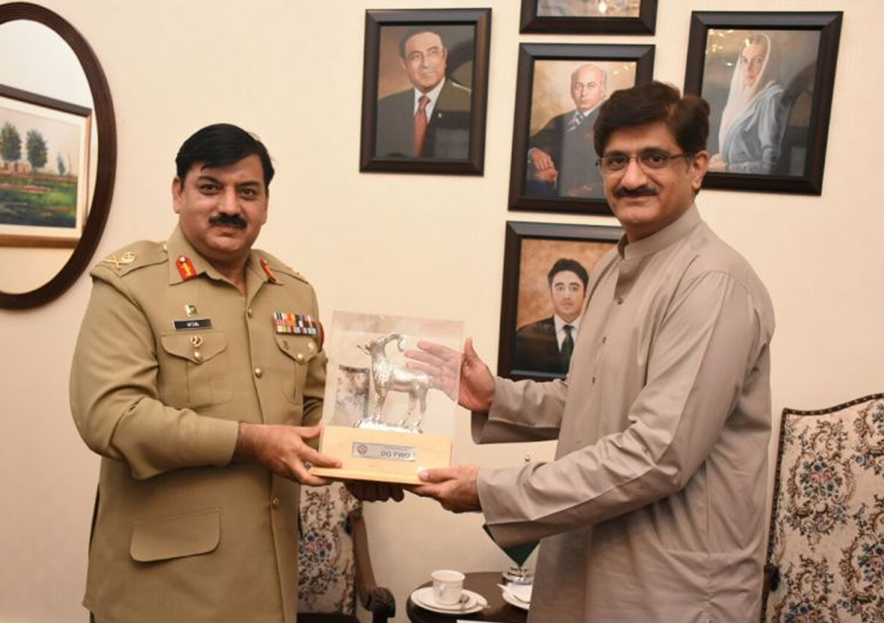 DG FWO Meeting with CM Sindh
